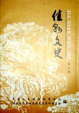 《佳县文史》第三辑 2003年