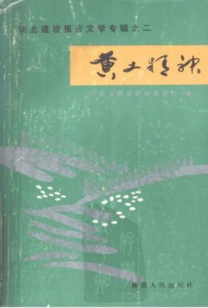 《陕北建设报告文学专辑之二  黄土精神》杨永奎 著